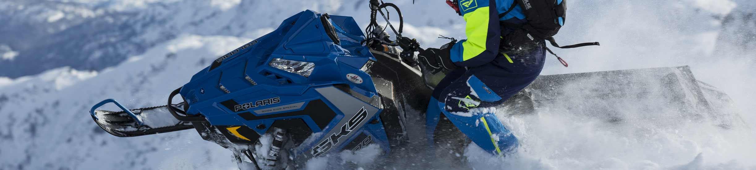 Motos de Nieve.